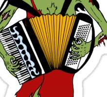 Undead Squeezebox Chanteuse! Sticker