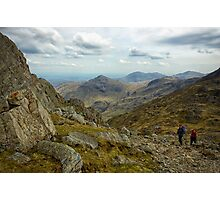 Views From The Ascent Of Bowfell Photographic Print
