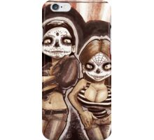 Monica and Shelly las muertas iPhone Case/Skin