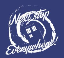 Next stop everywhere! by AMDY