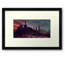 Castle new Arcadia Framed Print
