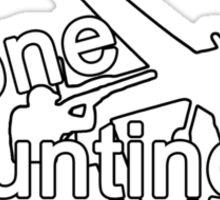 Drone hunting club Sticker