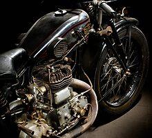 Gilera VL conservata engine 2 by Frank Kletschkus
