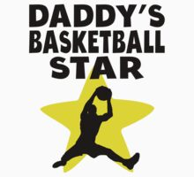 Daddy's Basketball Star Baby Tee
