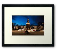 Castello Sforzesco - Milan Italy Framed Print
