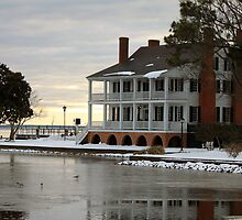 The Barker House After the Snow by WeeZie