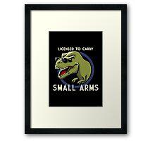 Licensed to Carry Framed Print