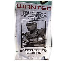 Roland Wanted Poster  Poster