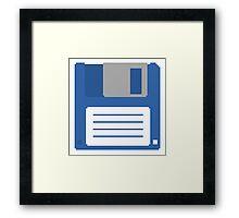Floppy Disk T Shirt Framed Print
