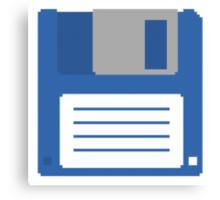 Floppy Disk T Shirt Canvas Print