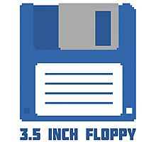 3.5 Inch Floppy Disk T Shirt Photographic Print