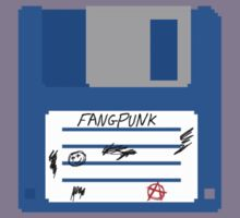 3.5 Inch Floppy Disk Fangpunk T Shirt by Fangpunk