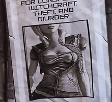 Lilith Wanted Poster  by JamesHowlett87