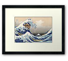 The Great Cookies off Kanagawa Framed Print