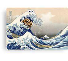 The Great Cookies off Kanagawa Metal Print