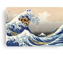 The Great Cookies off Kanagawa Canvas Print
