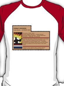 G.I.joe File card T-Shirt