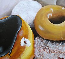Donuts 2 by Pamela Burger