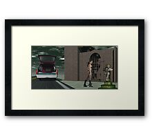 Requiem For A Hitter Framed Print
