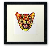 Pop Art Tiger ! Framed Print
