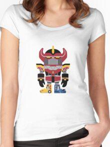 ZordDeki Women's Fitted Scoop T-Shirt