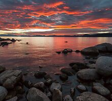Close of the Day - Lake Tahoe by Richard Thelen