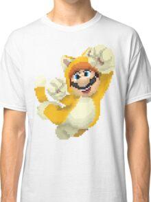 Super Mario 3D World - Cat Mario Pixel Art Classic T-Shirt