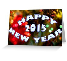 Happy New Year! - 2015 Greeting Card