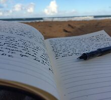 writers beach by castielovers