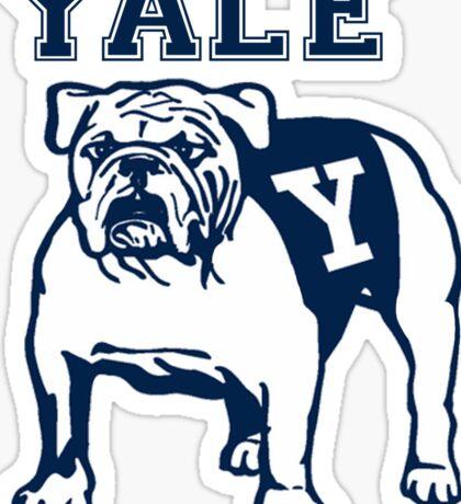 Yale Bulldog Sticker