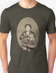 Japanese Kabuki Samurai Woman T-Shirt