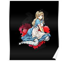 Alice in Wonderland - Inked Poster
