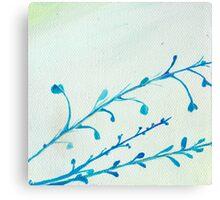 Blue Stems Canvas Print