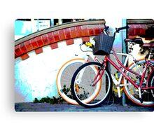 Byron bicycles.... Canvas Print