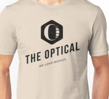 The Optical Logo and Title Unisex T-Shirt