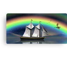 Story Book Voyage Canvas Print