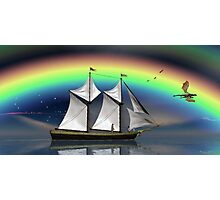 Story Book Voyage Photographic Print