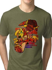 TY THE TASMANIAN TIGER Tri-blend T-Shirt