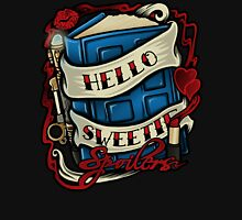 Hello Sweetie (T-shirt) Womens Fitted T-Shirt