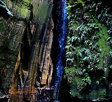 Within the Deep gorge  @  Isalo NP Madagascar by john  Lenagan