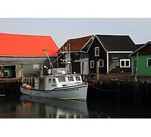 Peaceful Sandford Fishing Boat Scene Photographic Print