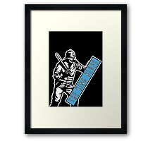 Riot Police King Blues Framed Print