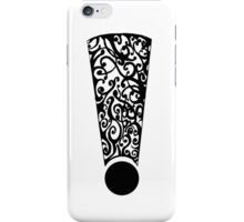 Exclamation #1 iPhone Case/Skin