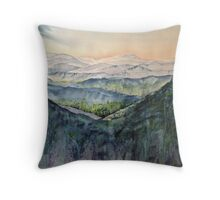 Trees in Japan Throw Pillow