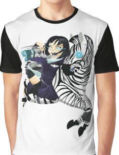 Zebra Rocket Launcher Graphic T-Shirt