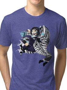 Zebra Rocket Launcher Tri-blend T-Shirt