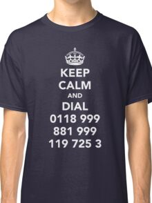 IT Crowd - Emergency Services Classic T-Shirt