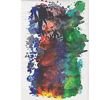 Forest Fire - right side Photographic Print