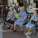 Ladies in the Square  by clizzio