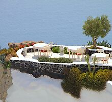Hideaway on Santorini by Carole-Anne